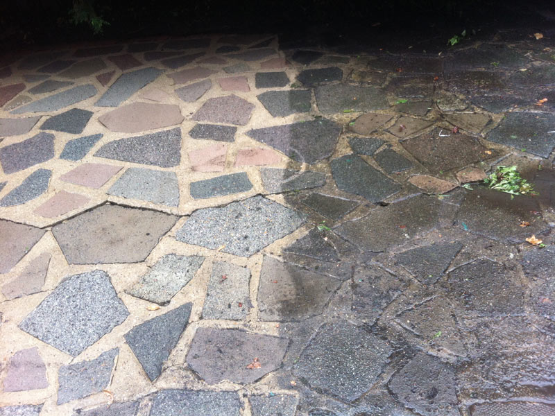 How to pressure wash concrete patio pressure washing 101 for Best way to power wash concrete